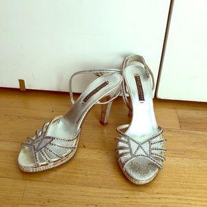Ralph Lauren rhinestone sandals size 7